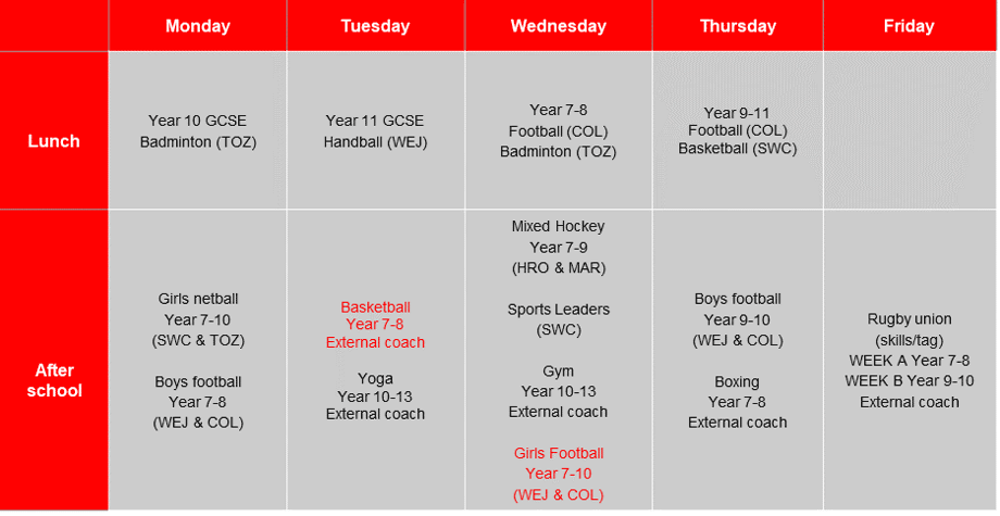 PE Extracurricular Timetable Term 1 and 2 (1)